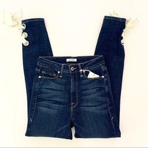 Good America Jeans NWT Good Waist Blue Size 27